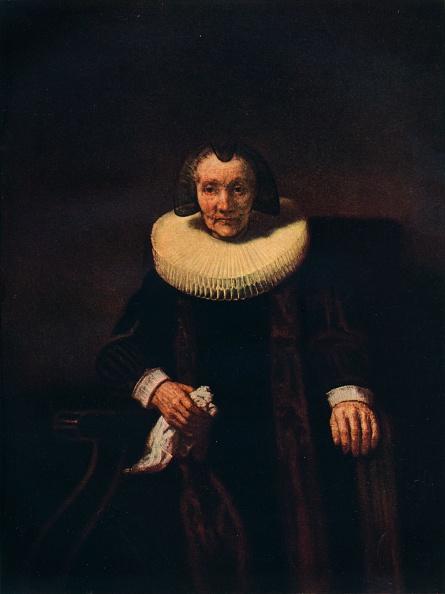 Black Background「'Portrait of Margaretha de Geer, Wife of Jacob Trip', c1661」:写真・画像(7)[壁紙.com]