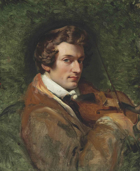 Oil Painting「Portrait Of The Composer Charles-Auguste De Beriot 1802-1870」:写真・画像(19)[壁紙.com]