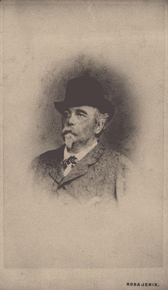 August「Portrait of August Zang (1807-1888) Artist: Jenik, Rosa (1853-1913)」:写真・画像(0)[壁紙.com]