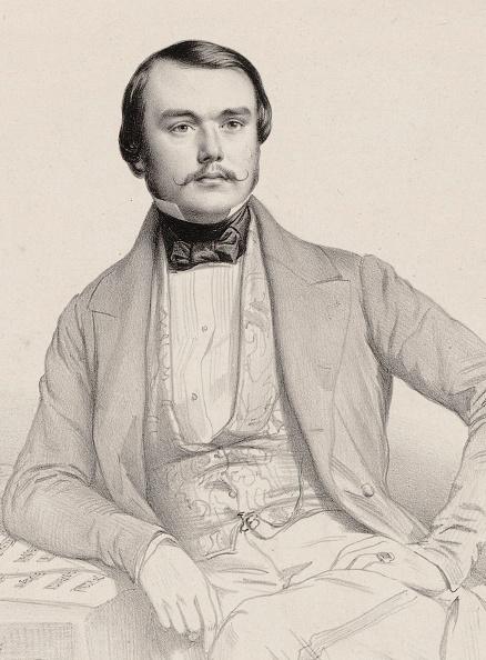 Classical Style「Portrait Of The Pianist And Composer Alexandre Edouard Goria 1823-1860」:写真・画像(3)[壁紙.com]