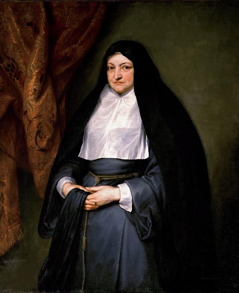 Sir Anthony Van Dyck「Portrait Of Infanta Isabella Clara Eugenia Of Spain 1566-1633 As A Nun」:写真・画像(16)[壁紙.com]