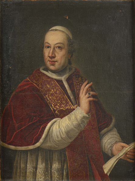 Painting - Activity「Portrait Of The Pope Pius Vi (1717-1799)」:写真・画像(4)[壁紙.com]