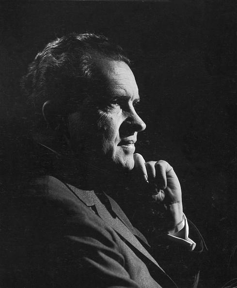Profile View「Portrait Of Richard Nixon」:写真・画像(3)[壁紙.com]