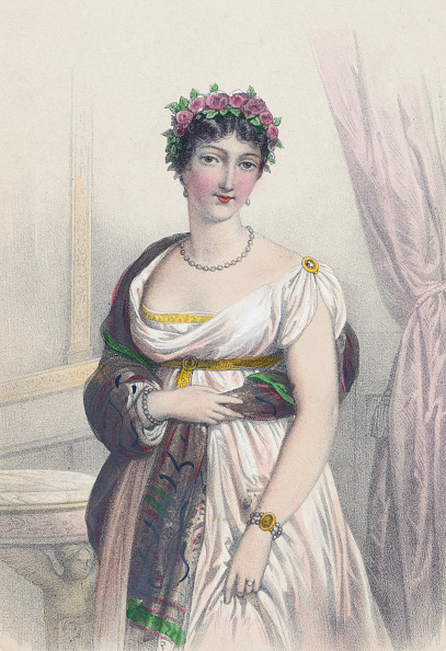 Shawl「Theresa Tallien, French Noble & Socialite」:写真・画像(8)[壁紙.com]