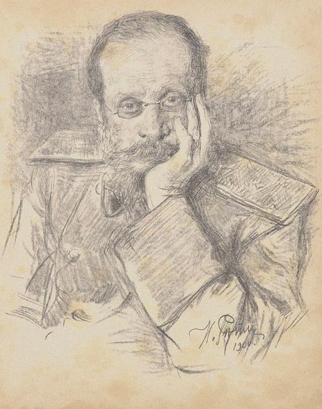 1900「Portrait Of The Composer César Antonovich Cui (1835-1918)」:写真・画像(3)[壁紙.com]
