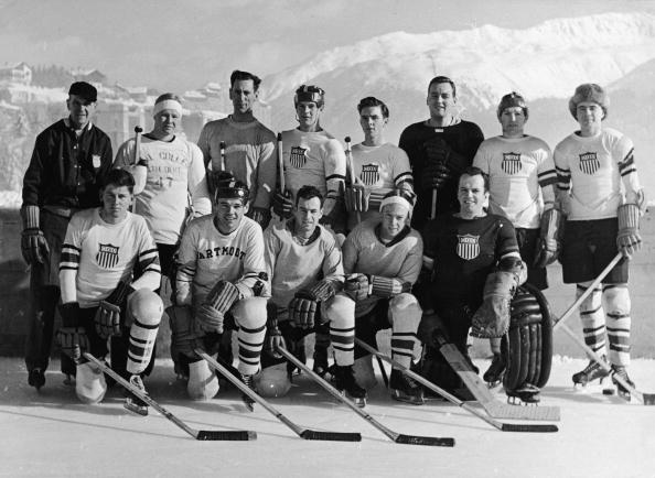 オリンピック「Brundage Hockey Team At 1948 Winter Olympics」:写真・画像(19)[壁紙.com]