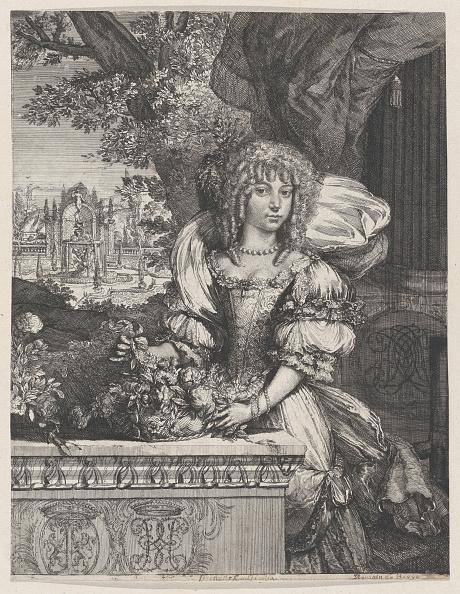 Etching「Portrait Of Mary Stuart,.N.D.」:写真・画像(8)[壁紙.com]
