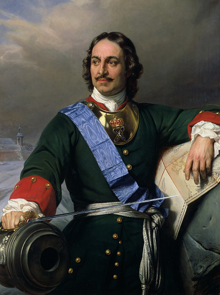 Emperor「Portrait Of Emperor Peter I The Great (1672-1725)」:写真・画像(10)[壁紙.com]