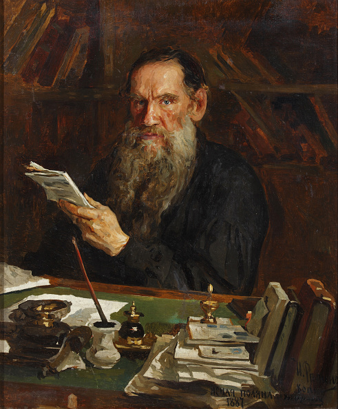 Art Product「Portrait Of The Author Count Lev Nikolayevich Tolstoy (1828-1910)」:写真・画像(12)[壁紙.com]