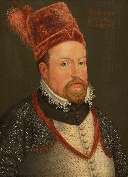 Oil On Wood「Portrait Of Ferdinand Ii 1529-1595」:写真・画像(2)[壁紙.com]