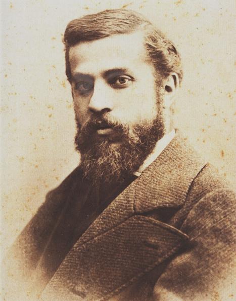 アントニ・ガウディ「Portrait of Antoni Gaudí. Artist: Deglaire, Pablo Audouard (1856-1919)」:写真・画像(2)[壁紙.com]