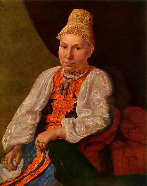 Necklace「Portrait Of The Wife Of Obraztsov」:写真・画像(9)[壁紙.com]