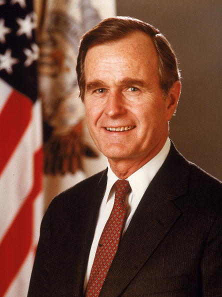 Politician「Porrtrait Of President George Bush, c. 1989. 」:写真・画像(5)[壁紙.com]
