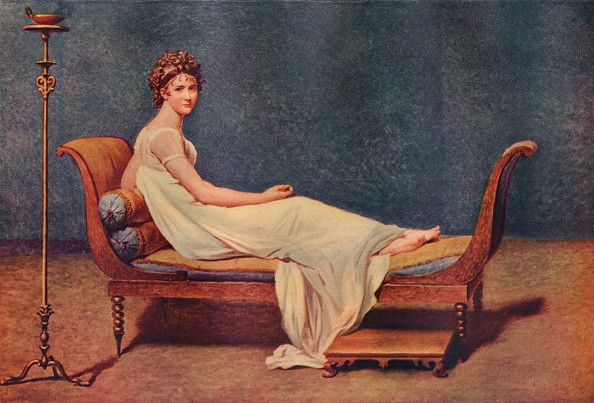 Reclining「Portrait of Madame Recamier, 1800, (1911). Artist: Jacques-Louis David」:写真・画像(18)[壁紙.com]