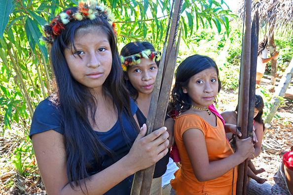 Amazon Rainforest「Young Awa Hunters」:写真・画像(18)[壁紙.com]