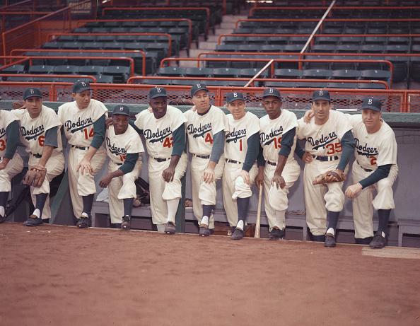 野球「1954 Brooklyn Dodgers」:写真・画像(6)[壁紙.com]