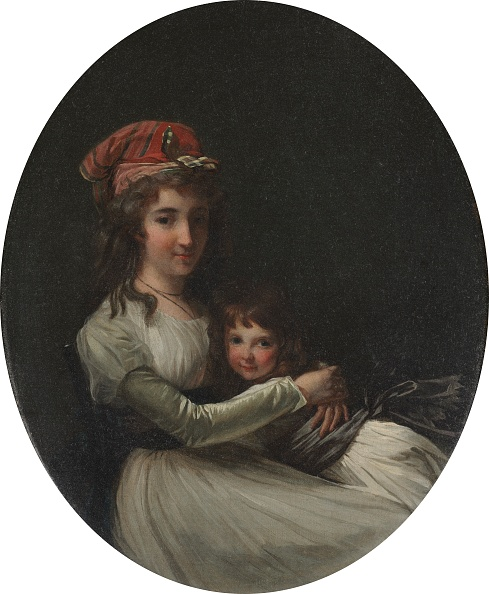 Neckerchief「Portrait Of A Mother And Daughter」:写真・画像(5)[壁紙.com]