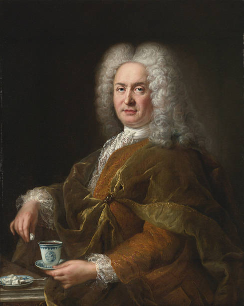 Portrait of a gentleman holding a cup of chocolate:ニュース(壁紙.com)