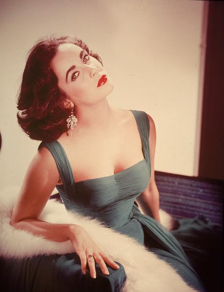 体にぴったりした「Portrait Of Elizabeth Taylor」:写真・画像(14)[壁紙.com]