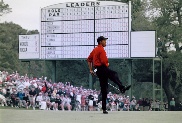 Best shot「US Masters Golf Tournament」:写真・画像(1)[壁紙.com]