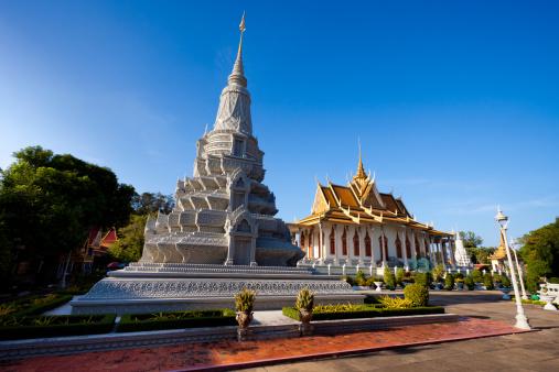 Cambodian Culture「Silver Pagoda and Grand Palace Phnom Penh」:スマホ壁紙(3)