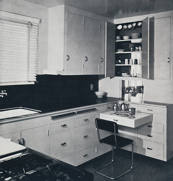 Kitchen「Honor Easton - The Kitchen In The House Of Dr Ian Campebell」:写真・画像(5)[壁紙.com]