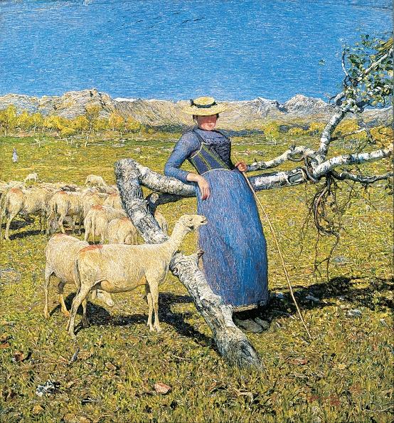 風景(季節別)「High Noon In The Alps 1892」:写真・画像(4)[壁紙.com]