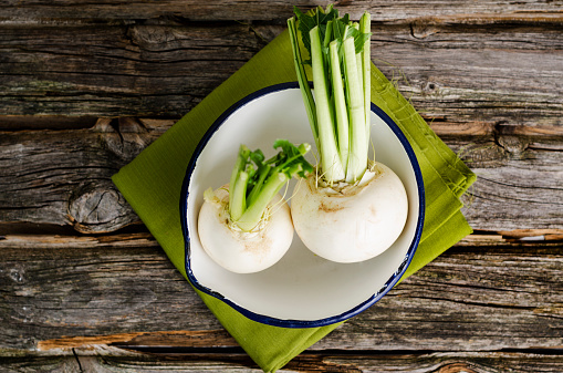 Turnip「May turnips, Brassica rapa subsp. rapa var. majalis, in a bowl」:スマホ壁紙(19)