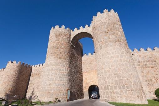 Fortified Wall「Avila, Avila Province, Spain」:スマホ壁紙(10)