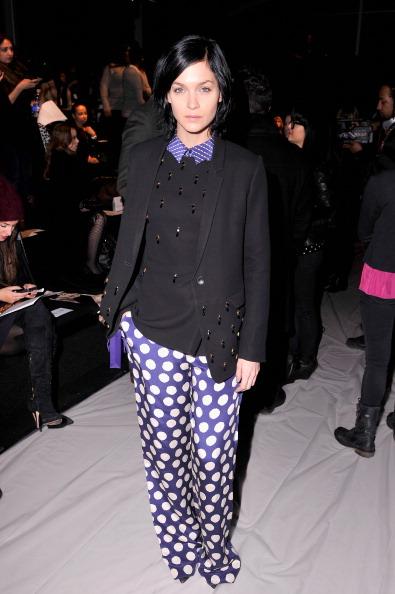 Stephen Lovekin「Noon By Noor - Front Row - Mercedes-Benz Fashion Week Fall 2014」:写真・画像(5)[壁紙.com]