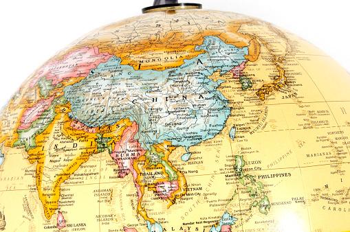 Map「アジアの世界」:スマホ壁紙(9)