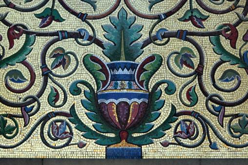 Roman「urn mosaic tile detail」:スマホ壁紙(4)