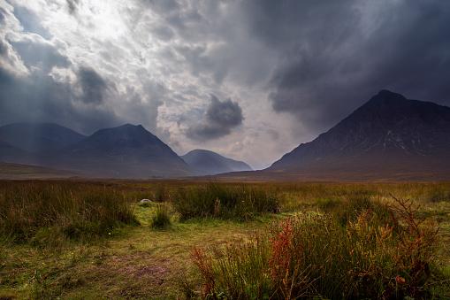 スコットランド文化「グレンコー、スコットランド高地」:スマホ壁紙(19)
