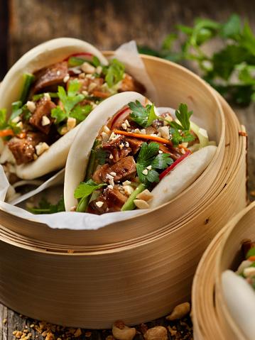 Chinese Steamed Bun「Pork Belly Bao Buns」:スマホ壁紙(4)