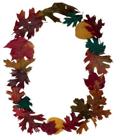 Zero「Autumn leaves as the letter O」:スマホ壁紙(13)