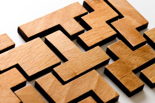 Connection「Wooden Puzzle」:スマホ壁紙(4)