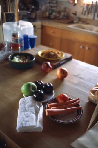 Napkin「Kitchen table」:スマホ壁紙(7)