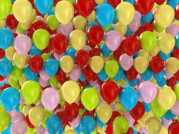 Colorful Balloons Background:スマホ壁紙(壁紙.com)