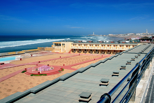 波「Ain Diab Beach, Casablanca, Morocco」:スマホ壁紙(13)
