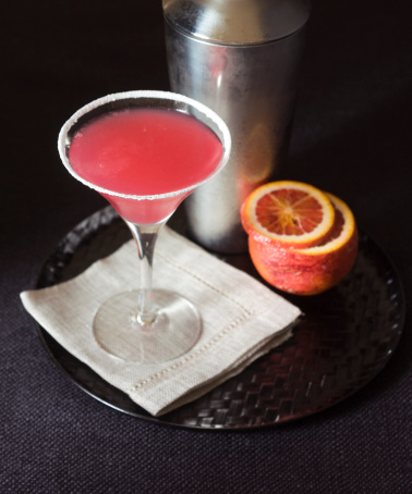 Martini「Citrus kiss cocktail with blood orange and shaker」:スマホ壁紙(4)
