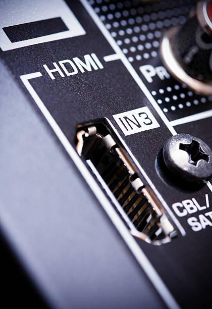 HDMI AV receiver's connector:スマホ壁紙(壁紙.com)