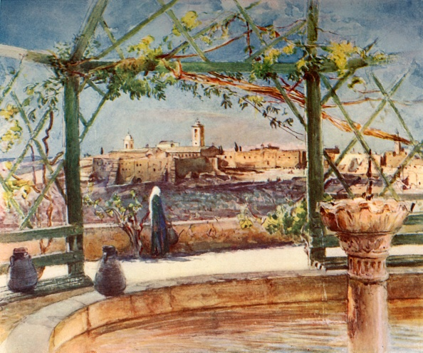 Church「Church Of The Nativity At Bethlehem From A Garden On The Opposite Hill」:写真・画像(7)[壁紙.com]
