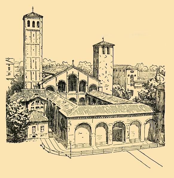 T 「The Church Of St Ambrose At Milan」:写真・画像(0)[壁紙.com]