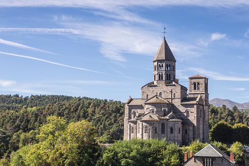 Roman「The church of Saint Nectaire in Auvergne, France.」:スマホ壁紙(8)