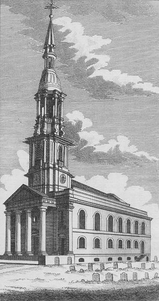 1820-1829「Shoreditch Church」:写真・画像(16)[壁紙.com]