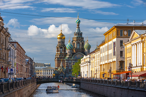 Cathedral「The Church of the Spilled Blood.」:スマホ壁紙(1)