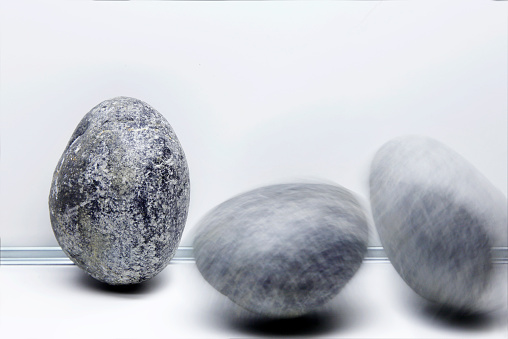 Multiple Exposure「round rocks rolling」:スマホ壁紙(4)