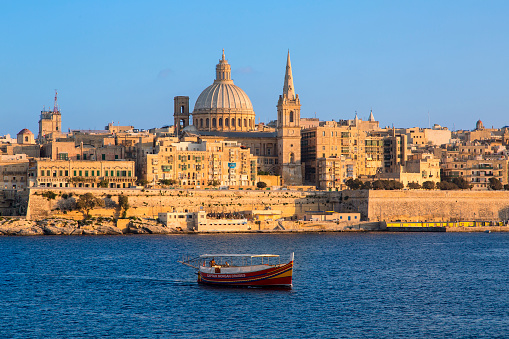 Maltese Islands「Malta, Valletta at Sunset」:スマホ壁紙(9)