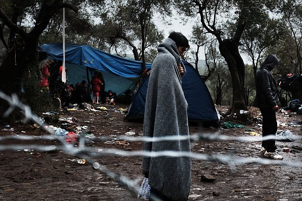 Displaced Persons Camp「Greek Island Of Lesbos Continues To Receive Migrants Fleeing Their Countries」:写真・画像(6)[壁紙.com]