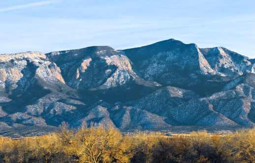 Sandia Mountains「Southwestern Landscape with Sandia Mountains」:スマホ壁紙(15)